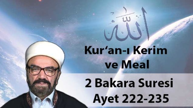 2 Bakara Suresi – Ayet 222-235-01