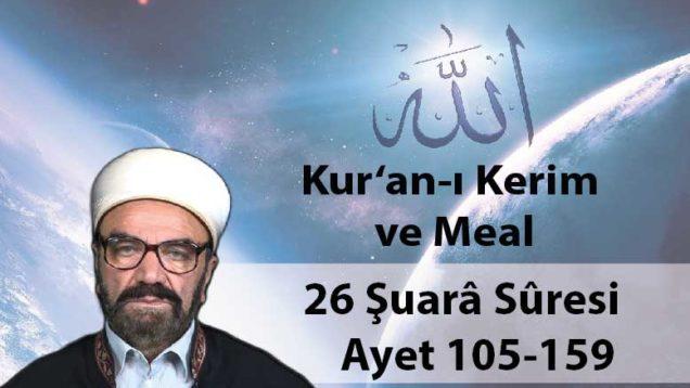 26 Şuarâ Sûresi Ayet 105-159-01