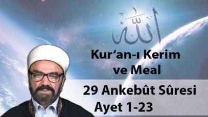 29 Ankebût Sûresi Ayet 1-23-01