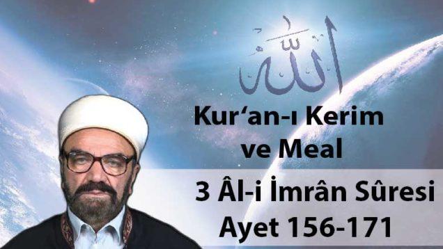 3 Âl-i İmrân Sûresi Ayet 156-171-01