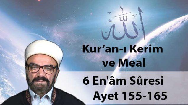 6 En'âm Sûresi Ayet 155-165-01