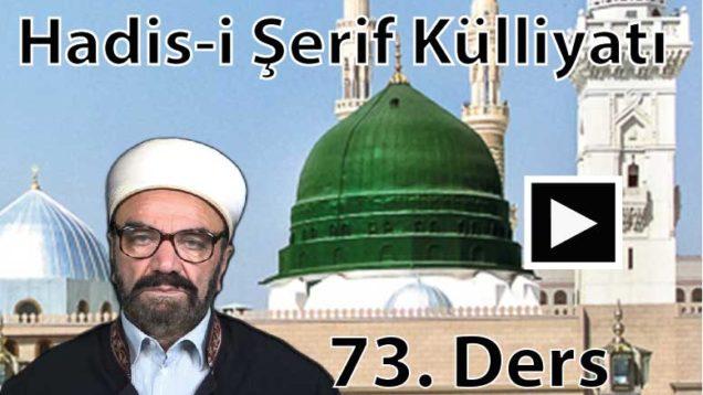 HadısŞerifKülliyatı 73-01-01