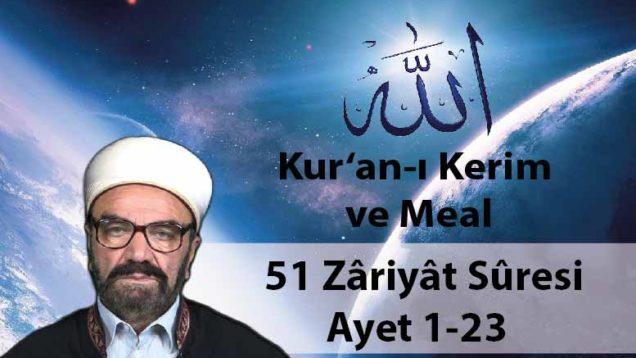51 Zâriyât Sûresi Ayet 1-23-01
