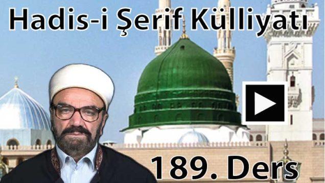 HadısŞerifKülliyatı 189-01