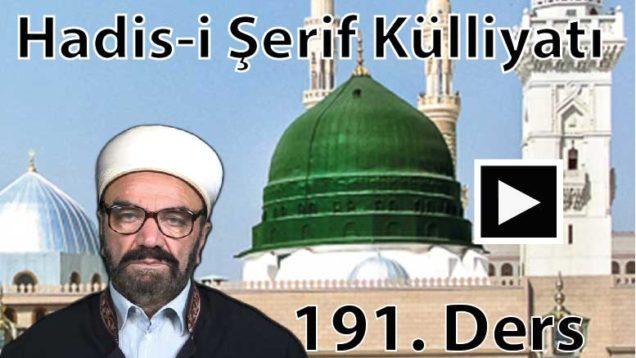 HadısŞerifKülliyatı 191-01