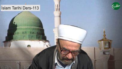 İslam Tarihi Ders 113