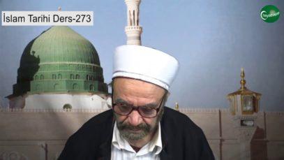 İslam Tarihi Ders 273