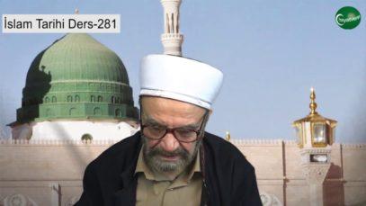 İslam Tarihi Ders 282