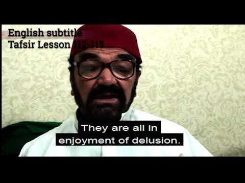 Turkish English Tafsir Lesson 112-115