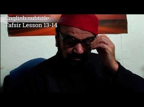 Turkish English Tafsir Lesson 13-14