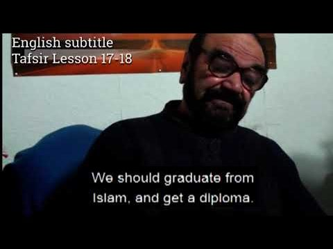 Turkish English Tafsir Lesson 17-18