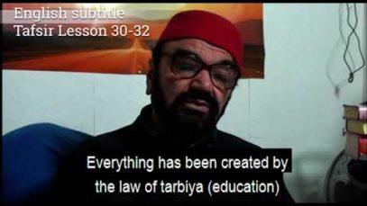 Turkish English Tafsir Lesson 30-32