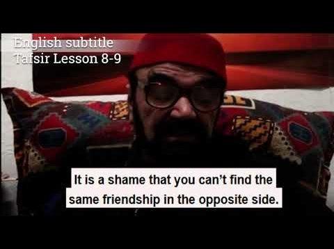 Turkish English Tafsir Lesson 8-9