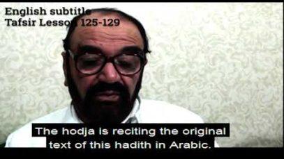 Turkish English Tafsir Lesson 125-129