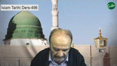 İslam Tarihi Ders 496