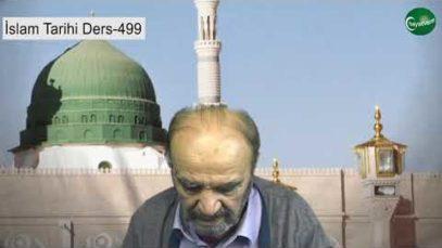 İslam Tarihi Ders 499