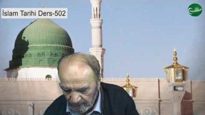 İslam Tarihi Ders 502