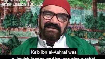 Turkish English Tafsir Lesson 151-157