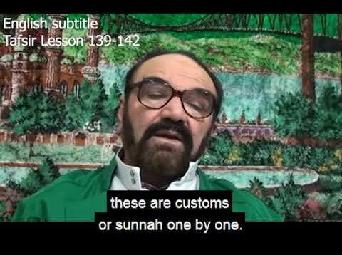 Turkish English Tafsir Lesson 139-142