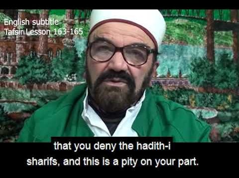 Turkish English Tafsir Lesson 163-165