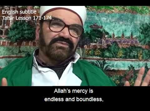 Turkish English Tafsir Lesson 171-174