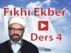 fıkhı-ekber-ders-4